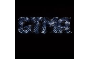 658 LED Programmable Scrolling Text Message Net Light 2m x 80cm for Christmas