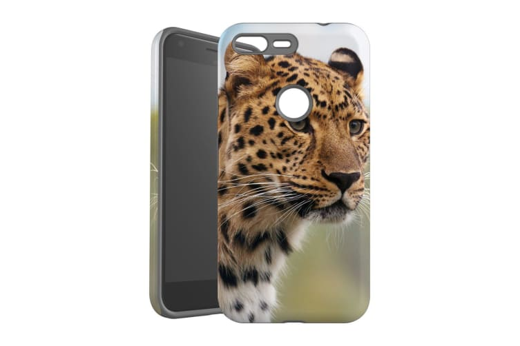 For Google Pixel XL Case  Protective Back Cover  Preying Cheetah