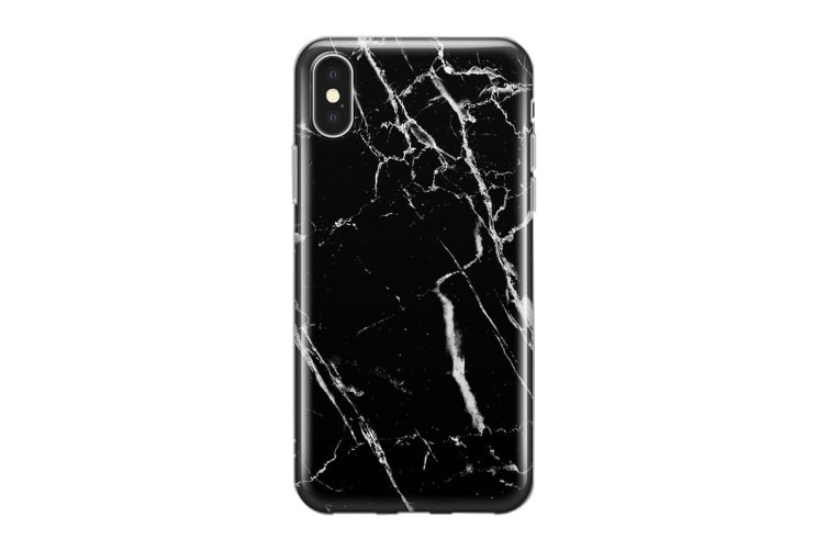 Recover iPhone XS Max Case - Black Marble (REC046)