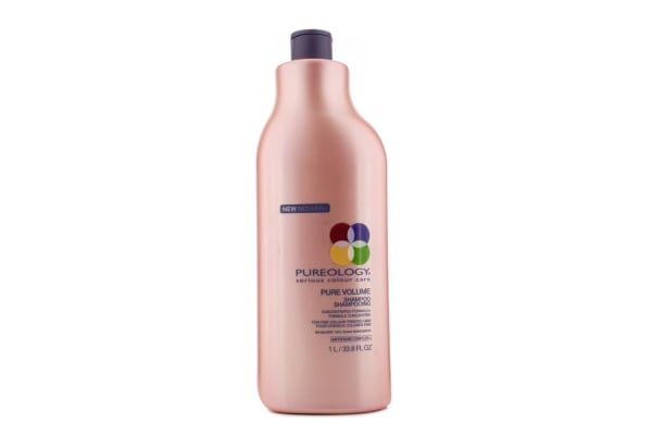 Pureology NEW Pure Volume Shampoo (For Fine Colour-Treated Hair) (1000ml/33.8oz)
