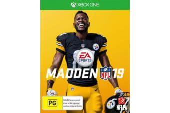 MADDEN 19 Xbox One GAME GREAT CONDITION