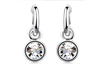 Bella Chic Earrings Embellished with Swarovski crystals