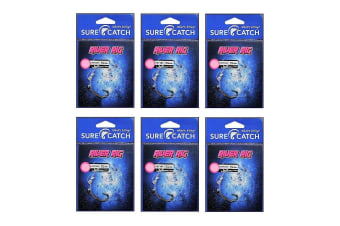 6 Pack of Surecatch Pre-Tied River Rigs with Bronze Hooks (Size 1)
