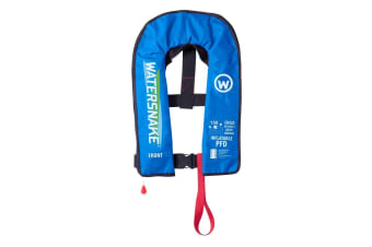 Blue Watersnake Deluxe Automatic/Manual Inflatable PFD - Level 150 Child Life Jacket
