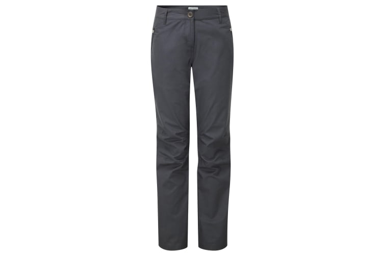 Craghoppers Womens/Ladies C65 Outdoor Trousers (Charcoal) (8S)