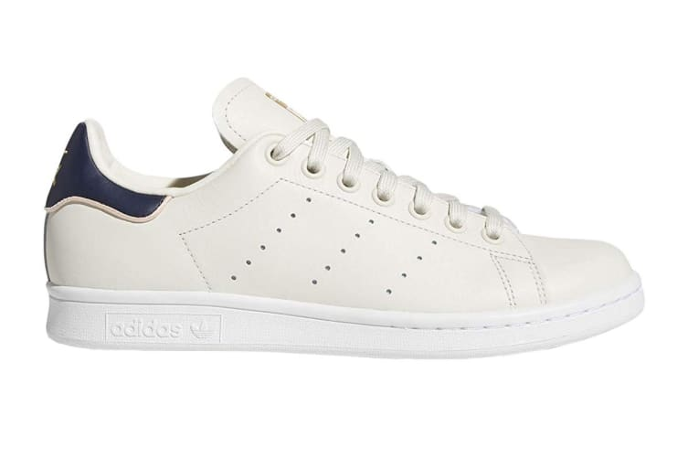 best service 0a161 6e1b3 Adidas Originals Women's Stan Smith Shoes (Chalk White/Collegiate Navy,  Size 5 UK)