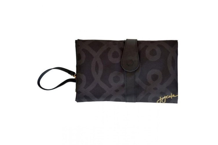 JJ Cole Collections Changing Clutch  in Black and Gold