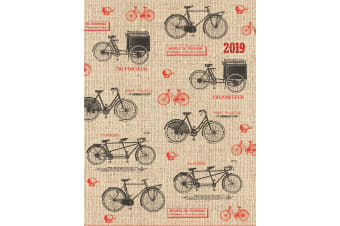 Cycling - New 2019 Premium Diary Planner A5 Padded Cover Christmas New Year Gift