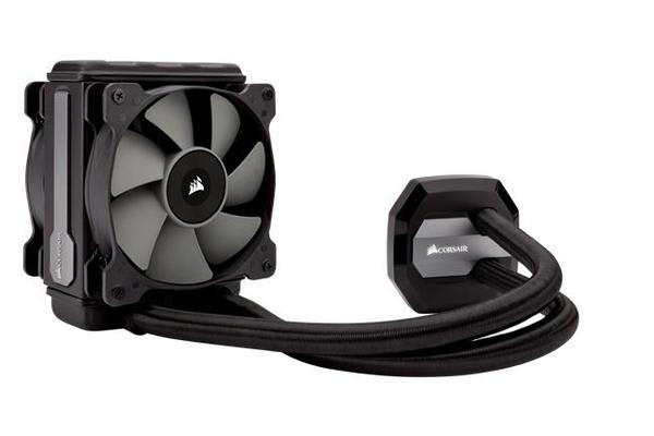 Corsair H80i v2 120mm Liquid CPU Cooler Multi-Socket CPU 2x Fans. SOCKET TR4 READY