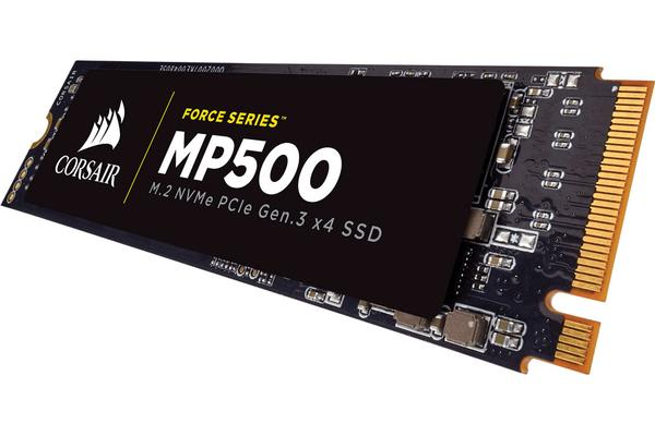 Corsair Force MP500 480GB M.2 SSD - NVMe 3000/2400MB/s 250K/210K IOPS
