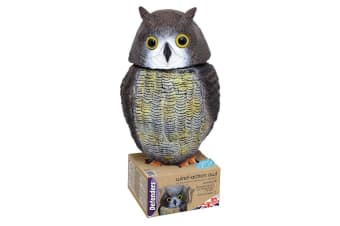 Defenders Action Owl Statue (Brown) (One Size)