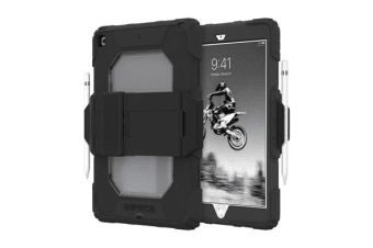 Griffin Survivor All-Terrain Rugged Case for  iPad 10.2  (7th Gen.)  - Black