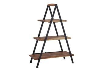 Davis & Waddell Fine Foods Three Tier Wood Iron Cake Cupcake Serving Stand Taste
