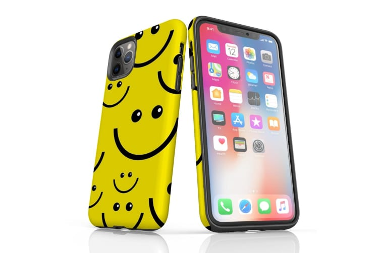For iPhone 11 Pro Protective Case Unique Phone Cover  Smiles