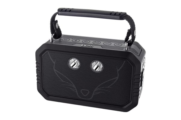 DOSS Traveller Portable Bluetooth Speaker with Waterproof IPX6, Bluetooth 4.0 and 20W Stereo Sound - Black (WB60BLK)