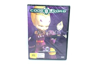 Code Lyoko XANA Possessed 3 -Animated Series Rare- Aus Stock DVD NEW