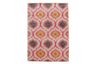 Gypsy Heirloom Rug Pink Yellow Grey 230x160cm