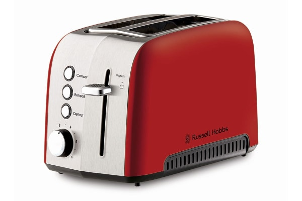 Russell Hobbs Heritage Vogue 2 Slice Toaster - Red (RHT52RED)