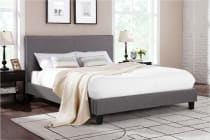 Shangri-La Bed Frame - Ravello Collection (Dark Grey)
