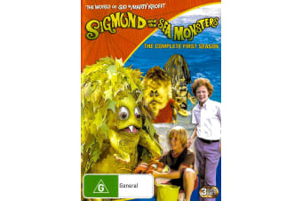 Sigmond and Sea Monsters Season 1 -Kids Series Region 4 DVD PREOWNED: DISC LIKE NEW