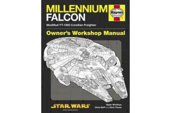 Star Wars YT-1300 Millennium Falcon Owners' Workshop Manual - Modified Corellian Freighter