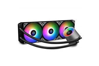 DeepCool Deepcool Castle 360 RGB 360mm All-in-One Liquid CPU Cooler with RGB Waterblock - DP-GS-H12L-CSL360RGB