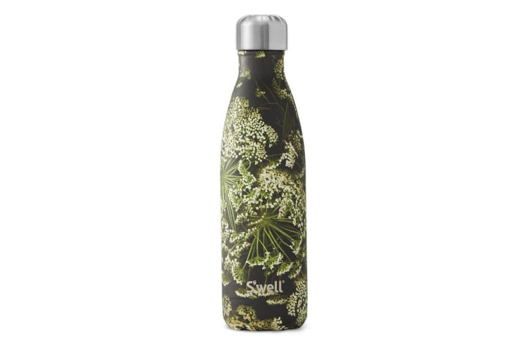 S'Well Insulated Stainless Steel Flora & Fauna Collection Queen Ann's Lace 500ml