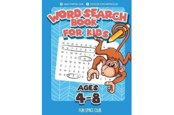 Word Search Books for Kids Ages 4-8 - Word Search Puzzles for Kids Activities Workbooks 4 5 6 7 8 Year Olds
