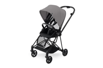 Cybex Mios Stroller Black Frame & Manhattan Grey colour