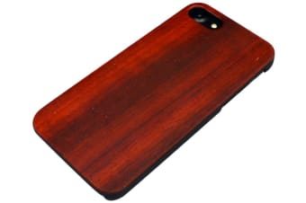 For iPhone 8 7 Case Elegant Rosewood Smooth High-Quality Protective Cover