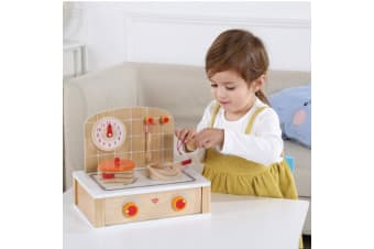 Wooden Kitchen Tabletop Play Set - Tooky Toy