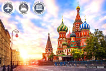 EUROPE: 22 Day Eastern Europe Tour + Russia River Cruise Including Flights for Two