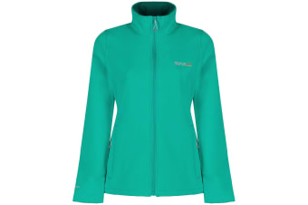 Regatta Great Outdoors Womens/Ladies Connie III Full Zip Softshell Jacket (Atlantis/Deep Lake)