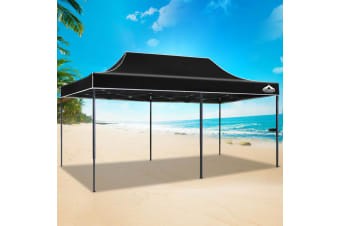 Pop Up Gazebo 3x6m Outdoor Tent Folding Wedding Marquee Gazebos BK