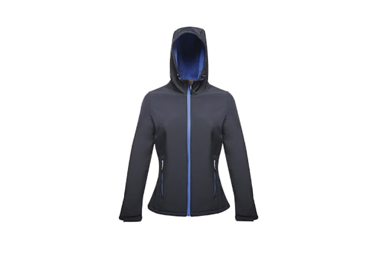 Regatta Womens/Ladies Arley II Softshell Jacket (Navy/Oxford Blue) (18 UK)