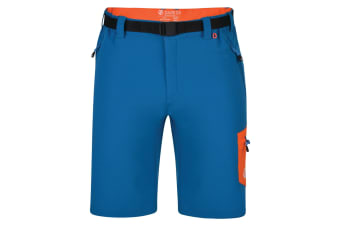 Dare 2B Mens Disport Lightweight Multi Pocket Shorts (Petrol Blue) (32in)