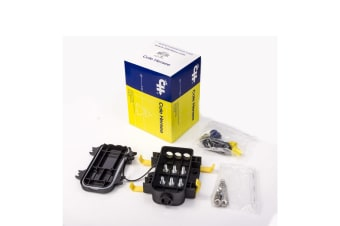 WATERPROOF DUSTPROOF TRIPLE MIDI FUSE HOLDER LITTELFUSE MIDIFUSE BATTERY 4X4 4WD