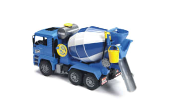 Bruder 46cm 1:16 MAN TGA Construction Cement Mixer Truck w/Bucket  Kids Toy