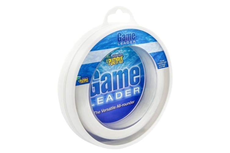 Platypus Game Leader Clear Fishing Line 50m 150lb
