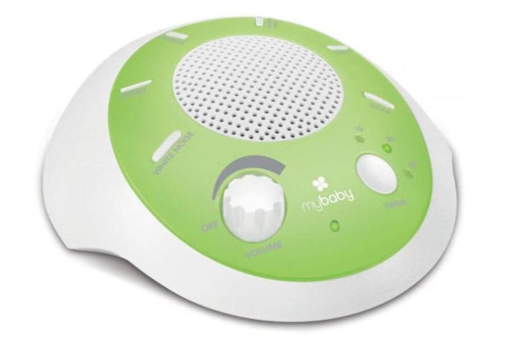 Homedics Portable Baby Toy Cot Sounds Musical Machine Lullaby Heartbeat Ocean