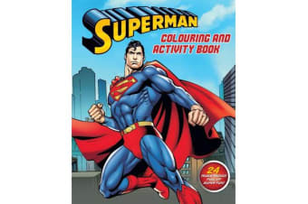 Superman Colouring and Activity Book