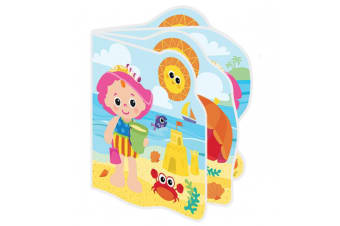 Lamaze Baby Bath Book My Friend Emily Interactive Toy/Waterproof Pages/Squeaker