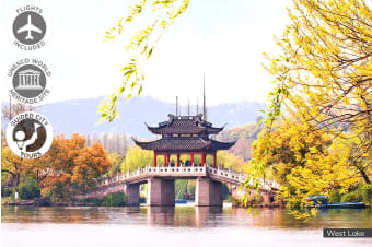 CHINA: 11 Day Classic China Tour Including Flights for One or Two