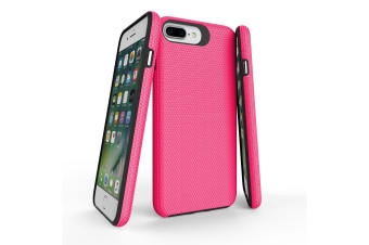 For iPhone 8  7  6 & 6S Case  Pink Armor Slim Shockproof Protective Phone Cover