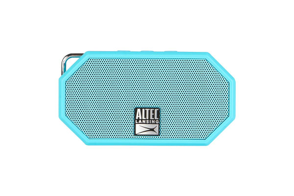 Altec Lansing Mini H2O MKII Bluetooth Speaker - Aqua Blue (IMW258-AB)