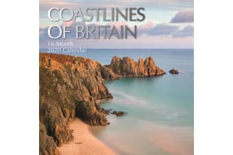 Coastlines of Britain - 2020 Wall Calendar 16 month Premium Square 30x30cm (R)