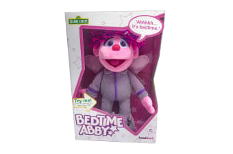 Sesame Street Talking Bedtime Abby Plush