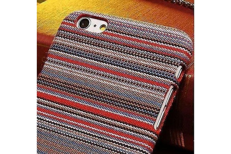 For iPhone 6S 6 Case Stylish Pacha Mama Retro Fabric Protective Cover Red