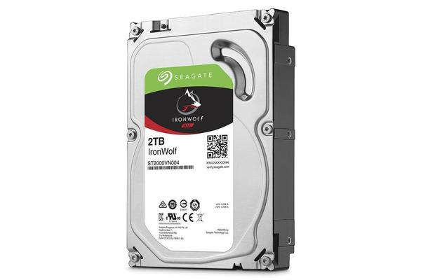 Seagate IronWolf, 2TB 64MB Cache SATA 6.0Gb/s NAS Internal Hard Drive