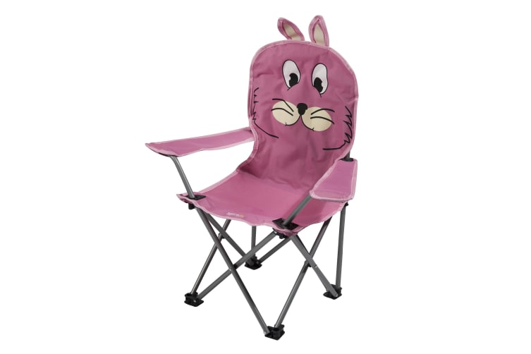 Regatta Great Outdoors Childrens/Kids Animal Camping Chair (Pink) (One Size)